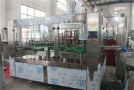 Fruit Juice Glass Bottle Filling Machine With PLC Control Precision Filling Level