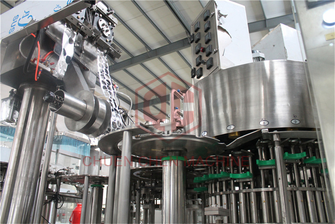 Yogurt Pulpy Puree Jelly Sauce Filling Machine For HDPE Bottle Electric Driven