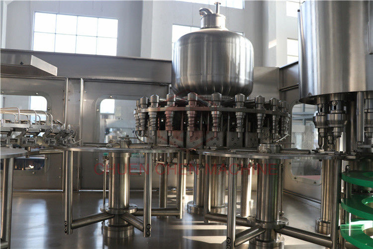 Electric Water Bottle Filling Machine Rinsing - Filling - Capping Function